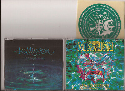 The Mission - Shades of Green / Hands Across The Ocean (  2 x CD Singles - Ex )