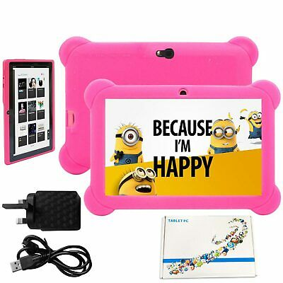 7 Inch Kids Android 4.4 Tablet PC 8GB Quad Core Dual Camera Wifi HD Tablet