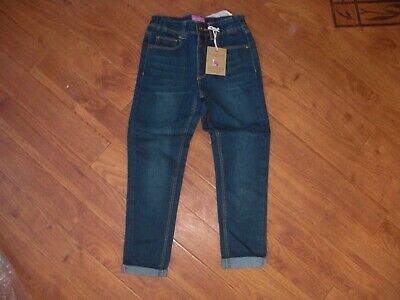 *Bnwt* Girls Joules Dark Stonewash Denim Jeans Age 6 Years.