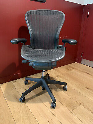 Size B Herman Miller AERON chair. Collection only. See details below!