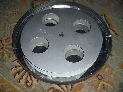 35mm Aluminum Split Reel 2000 ft Used Good Condition