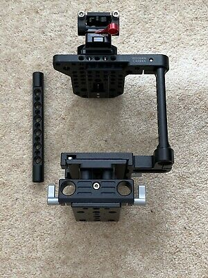 Wooden Camera Large DSLR Cage + 15mm Rod Support / Canon / Nikon / Leica SL /