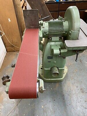 Frommia 805 Industrial Disc And Belt Sander, 3 Phase, No VAT Payable