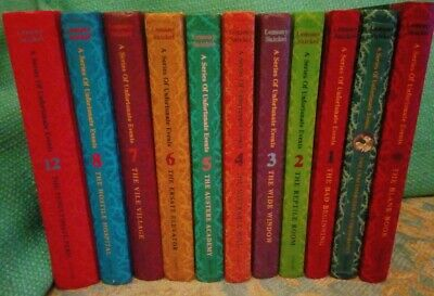 Lemony Snicket A Series Of Unfortunate Events Books Incomplete set