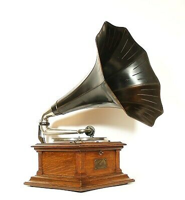 1912 Victor III Phonograph w/Original Flower Horn * Outstanding * No Repro Parts