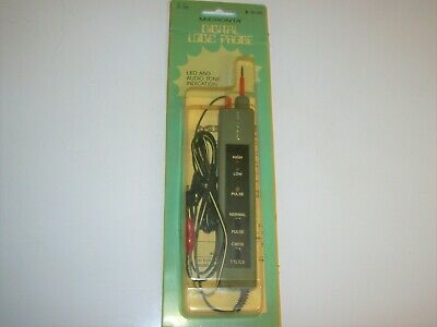 Micronta 22-302 Logic Probe -- With LED and Audio Tone Indication NEW OLD STOCK