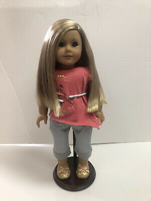 American Girl of the Year 2014 Isabelle Doll in EUC Original Box+Hair Extensions