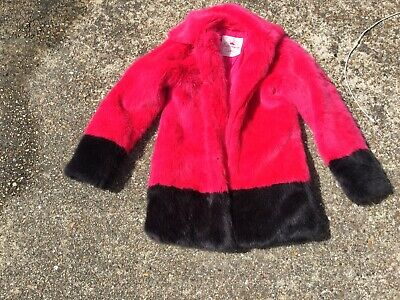 Girls Coat Jacket George Age 9-10 Pink