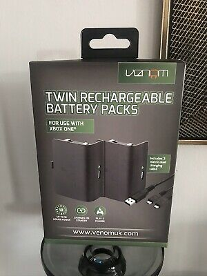 2x Official Genuine Battery Pack Back Cover for Xbox One Wireless Controller