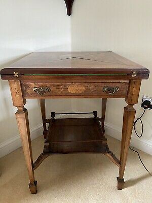 Edwardian Rosewood Card Table