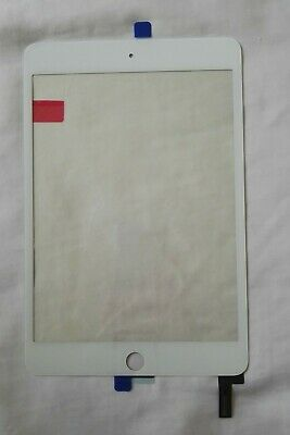 White iPad mini 4 Digitizer Touch Screen IC Adhesive
