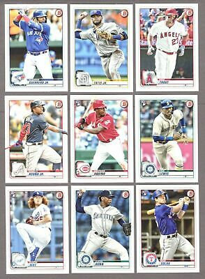 2020 BOWMAN BASE #'s 1-100 (RC's, STARS) - WHO DO YOU NEED!!