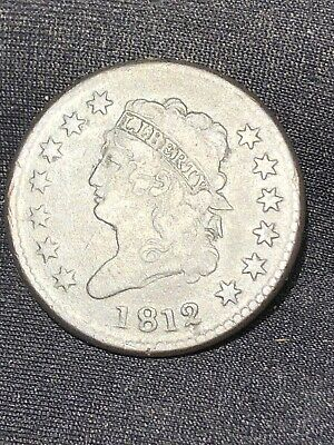 1812 classic head large cent Nice Collector Grade Piece