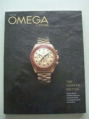 Omega Lifetime Magazine The Pioneer Edition - Race To The Moon (No. 21 - 2019)