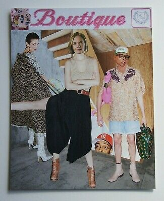 Original Handcut Collage 'Boutique' by Joyce & Vicky