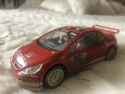 SCALEXTRIC SPORT C2561A Peugeot 307 WRC Works 2004 No 16