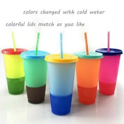 Color Changing Cups  Set of 5