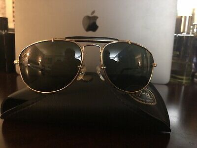 RayBan USA Vintage NOS B&L Aviator W1078 Olympics Sunglasses MINT RARE COLLECTOR