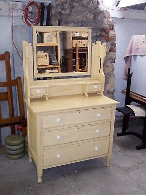 Victorian painted dressing table