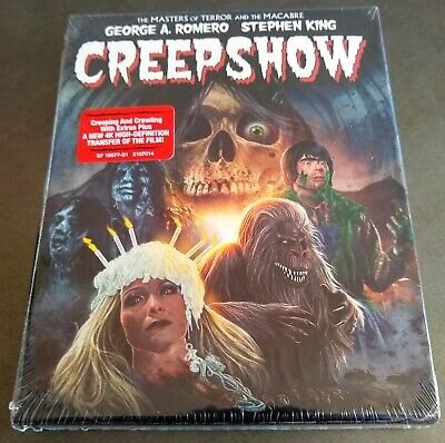 CREEPSHOW (1982) Collector's Edition Slipbox Blu-Ray George Romero Stephen King