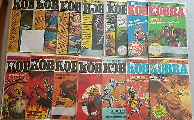 Kobra Comic Gevacur Convolute Collection 245 Piece Issues