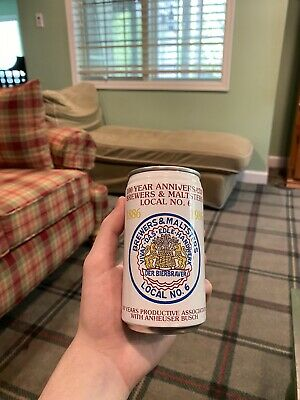 USBC 206-36 Anheuser-Busch Commemorative Can 100 Year Aniversary