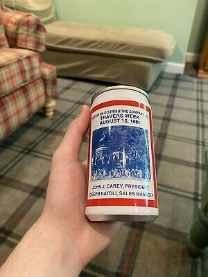 USBC 206-23 Anheuser-Busch Commemorative Can Travers Week 1981