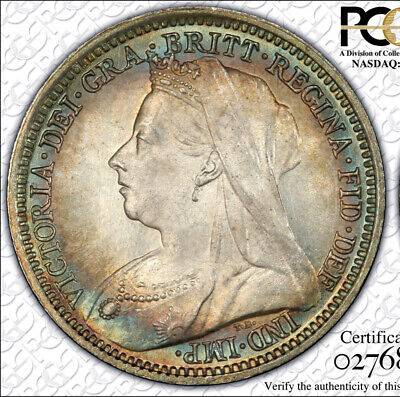 Great Britian 1899 PCGS MS68 Maundy 3 Pence, Incredible One of a Kind!