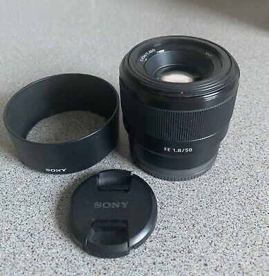 Sony FE 50mm F/1.8 Lens - Black
