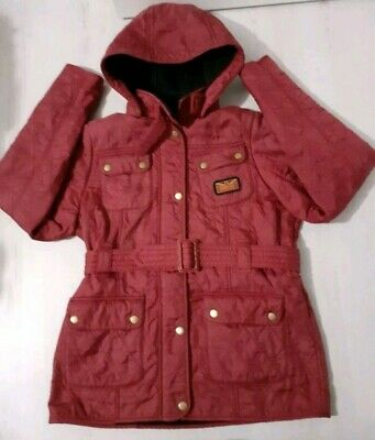 Girls Barbour International Viper Quilt Jacket Age 14-15 Years (XXL)
