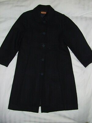 Girls Mayoral Navy smart coat age 8 years Excellent condition Wool blend