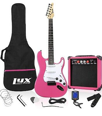 Full Size Electric Guitar, 20w Amp, All Accessories, Complete Starter Package