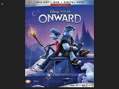 Pixar Disney's ONWARD (2020; Blu-ray + DVD + Digital Copy HD) - NEW & SEALED!