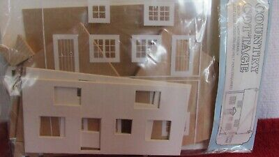 Dollhouse Miniature - HO/OO Scale - Country Cottage KIT from England