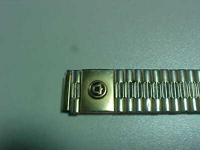 Vintage Bell Telephone Watchband With Bell System Logo-Used