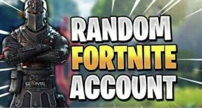 20 - 100 Skins Random Fortnite Account. Could Have Renegade, Recon, Ghoul, Skull