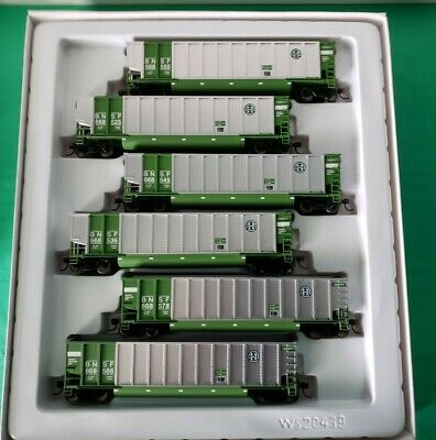 Walthers Bethgons 6-Pack BNSF Coal Cars