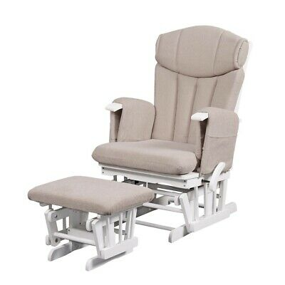 Kub Chatsworth Glider Nursing Chair and Foot Stool