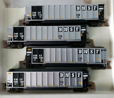 Walthers Bethgons 4-Pack BNSF Coal Cars