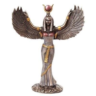 Egyptian Isis With Open Wings Goddess of Magic, wisdom and protection.