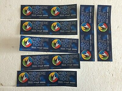 Movie certificate Regal Theater. Costco. Lot of 14 tickets. Free shipping.