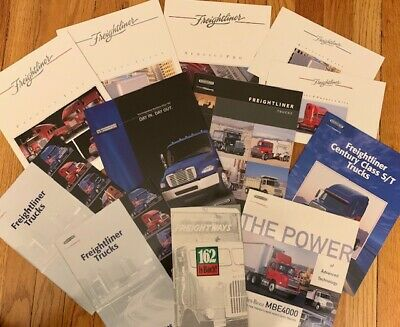 Freightliner Brochure Collection 12 Items