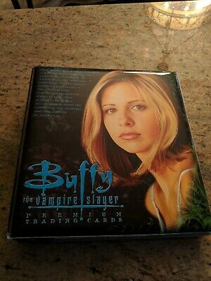 Buffy The Vampire Slayer Trading Cards With Rare Album