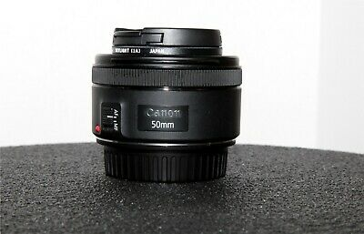 Canon EF 50mm f/1.8 STM Lens Pre-owned in Excellent Condition