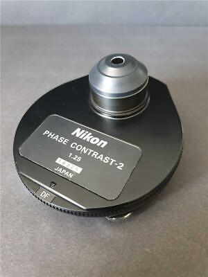 Nikon Microscope 1.25 Phase Contrast 2 Condenser Optiphot Labophot etc