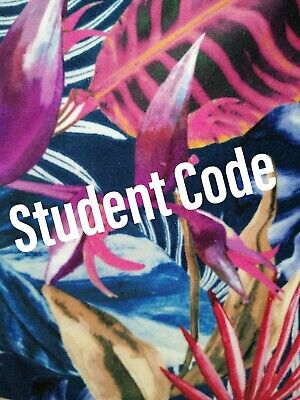 UNIDAYS or Student Beans SINGLE CODE - Student Discount 100% WORKING