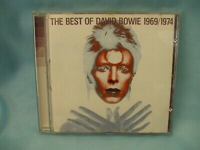 The Best of David Bowie 1969/1974 Cd Album With 20 Tracks