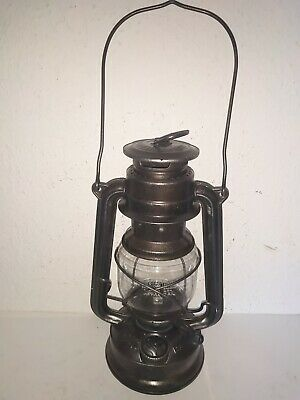 "Petroleum Lampe, Laterne,"" FEUERHAND *275* BABY , WESTERN GERMANY """