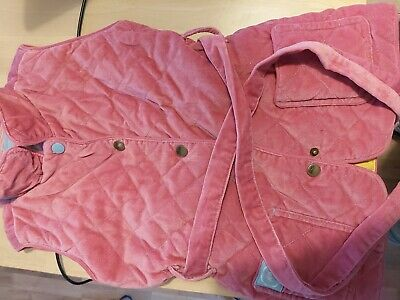Mini Boden girls pink gillet - 6 years