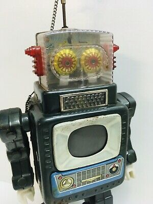 Television Spaceman Robot 1962 Robot Alps Japan Untested